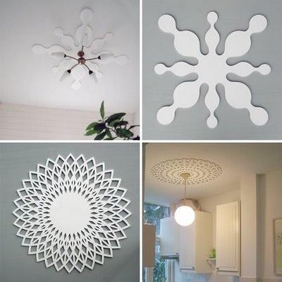 Fleur op dat plafond interieur inrichting interieur tips decoratie woonaccessoires - Eigentijdse design decoratie ...