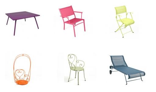 Fermob stoelen