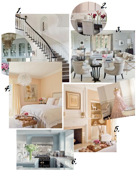 Wonen met jennifer lopez interieur inrichting interieur tips decoratie woonaccessoires - Deco keuken chique platteland ...